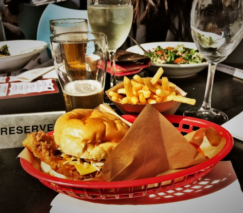 Lord Gladstone Pub Hotel Fried Chicken Burger Review Food Critic HolyCluck Holy Cluck Sandwich Chook Eran Thomson