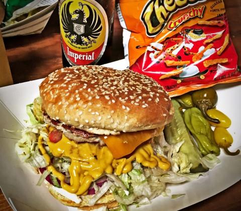 Hinano Cafe, Venice, Marina Del Rey, CA, Chicken Burger Review Food Critic HolyCluck Holy Cluck Sandwich Chook Eran Thomson