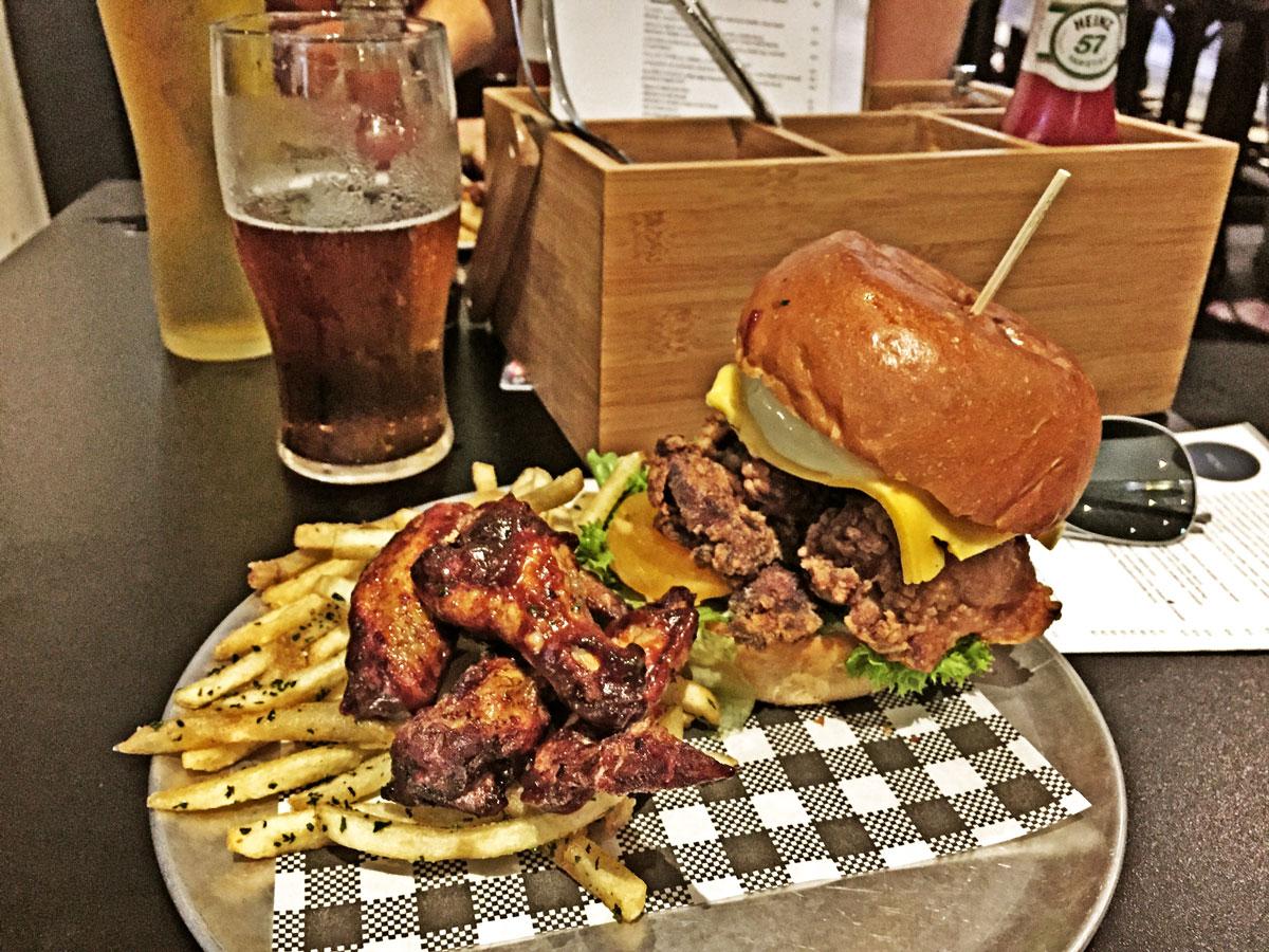 Bar Luca Sydney. Chicken Burger Review Food Critic HolyCluck Holy Cluck Sandwich Chook Eran Thomson
