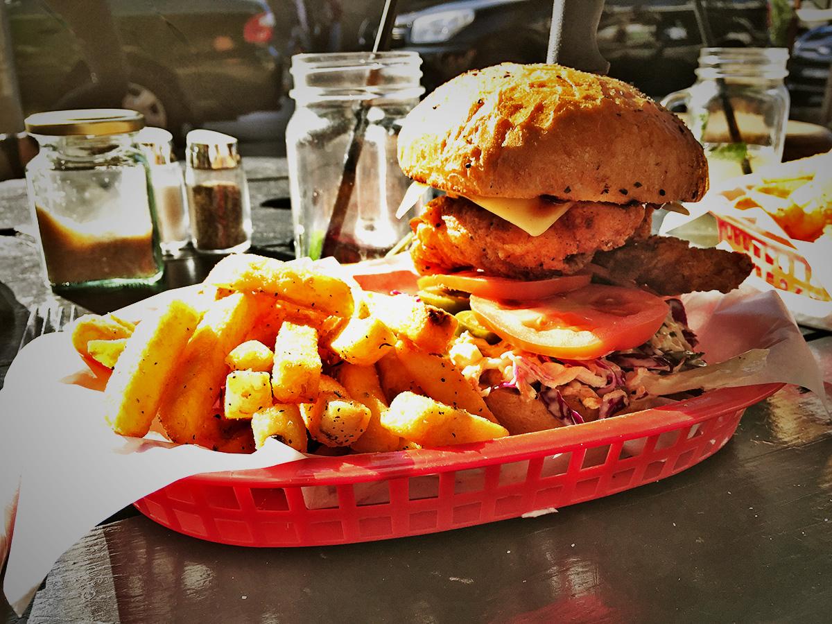 Tripod Chicken Burger Review Food Critic HolyCluck Holy Cluck Sandwich Chook Eran Thomson
