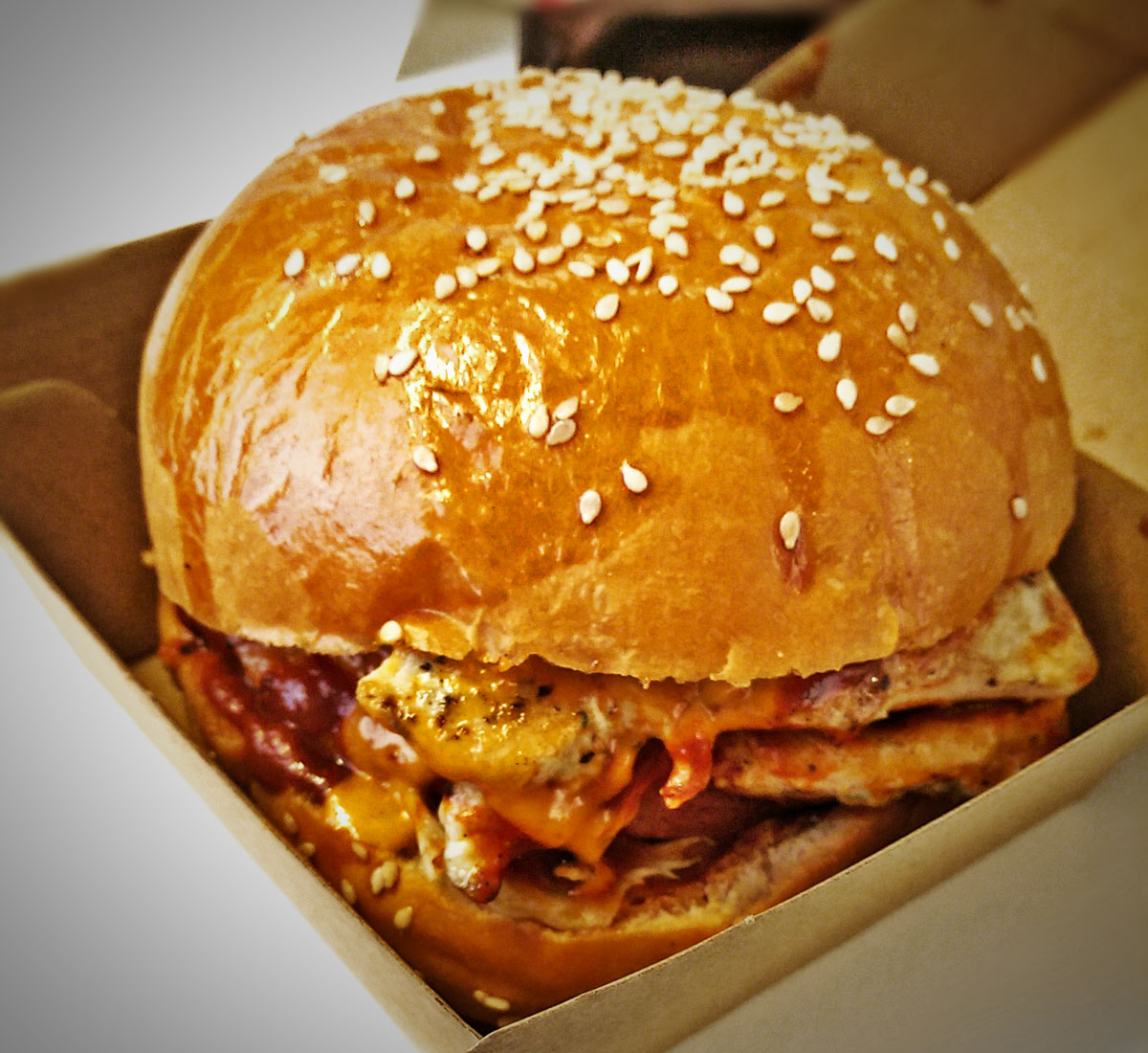 North Cafe Sandwich, Chicken Burger Review Food Critic HolyCluck Holy Cluck Sandwich Chook Eran Thomson