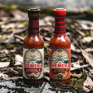 Holy Cluck chicken burger blog Diemen's Hot Sauce Sponsored Post