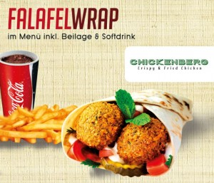 Chicken berg Germany falafel bullshit