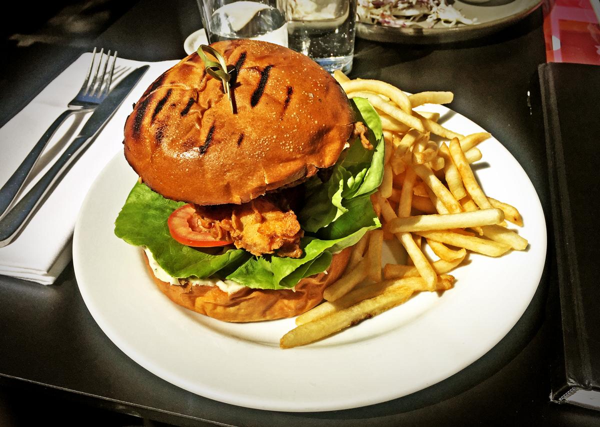 freds bar, Chicken Burger Review Food Critic HolyCluck Holy Cluck Sandwich Chook Eran Thomson