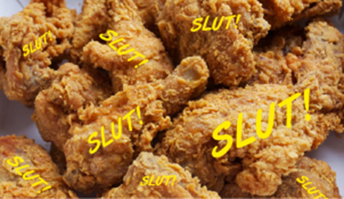Slut Chicken, Worldwide Chicken Burger Appreciation Society, Chicken Burger Review Food Critic HolyCluck Holy Cluck Sandwich Chook Eran Thomson